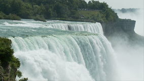 Rushing water niagara falls. Video of rushing water niagara falls stock footage
