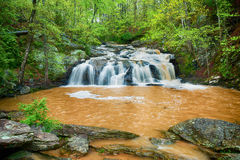 Rushing waterfall in Georgia mountains Stock Photography