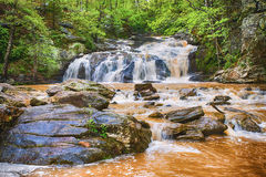 Rushing waterfall in Georgia mountains Royalty Free Stock Image