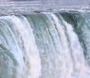 Rushing waterfalls. At Niagara falls tourist area Royalty Free Stock Image