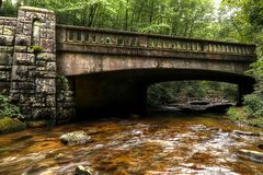 Rushing Waters Of The Smoky Mountains II Stock Photo
