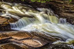 Rushing Waters Of Tahquamenon Royalty Free Stock Photography