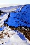 Rushup kant, Derbyshire, UK Arkivbild