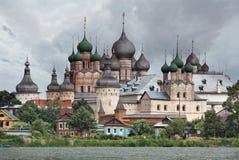 Rusia. Ciudad de Rostov el grande. Rostov Kremlin Imágenes de archivo libres de regalías