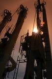Rusia. Extremo Oriente. Terminal del mar del cargamento del petróleo Fotos de archivo libres de regalías