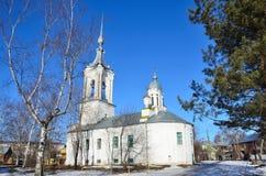 Rusia Iglesia de Varlaam de Hutyn Hutynsky en Vologda, 1780 años construido fotos de archivo