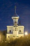 Rusia Iglesia del ` s de St Andrew en la noche de Vologda Foto de archivo