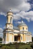 Rusia, Kolomna, siglo cruzado santo de la iglesia XVIII Fotos de archivo libres de regalías