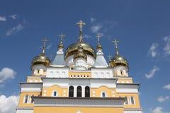 Rusia La iglesia de Cyril y de Methodius en Saransk fotografía de archivo libre de regalías