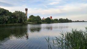 Rusia - lago hermoso cerca de Moscú Foto de archivo libre de regalías