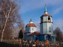 Rusia, Luhovicy, iglesia de nuestra señora de Kazán Foto de archivo