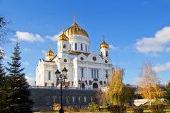 Rusia moscú Catedral de Cristo el salvador Imagen de archivo