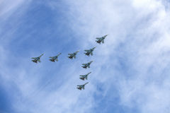 Rusia Moscú - 9 de mayo de 2015 Victory Day Fotografía de archivo libre de regalías