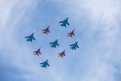 Rusia Moscú - 9 de mayo de 2015 Victory Day Fotos de archivo
