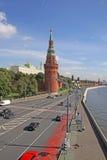 Rusia, Moscú el Kremlin en invierno Fotografía de archivo
