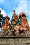 Rusia, Moscú, el Kremlin, la catedral de la albahaca del St Fotografía de archivo