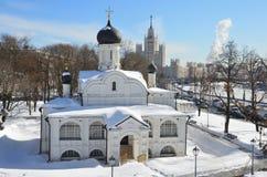 Rusia, Moscú Iglesia del concepto de Ana, el principio del siglo XVI El distrito histórico de Zaryadye Fotografía de archivo