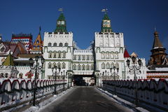 Rusia, Moscú. Kremlin en Izmailovo. Foto de archivo libre de regalías