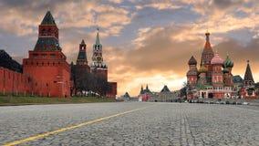 Rusia moscú El área roja Imagenes de archivo
