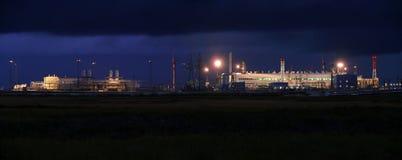 RUSIA, NADYM - 4 de septiembre de 2007: Orporation GAZPROM del ¡de Ð en Novy Imagen de archivo