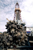 Rusia. Producción petrolífera Fotos de archivo