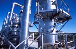 Rusia. Región de Jamal. La producción del gas natural Fotografía de archivo libre de regalías