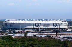 Rusia, Rostov-On-Don - 20 de marzo de 2017: Arena de Rostov del estadio de fútbol El estadio para el mundial 2018 de la FIFA foto de archivo