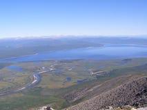 Rusia Siberia el norte de Buryatiya el mundo la naturaleza los lagos septentrionales landscape Imagen de archivo libre de regalías