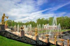 Rusia St Petersburg Arkivfoton