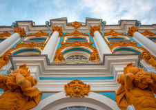 Rusia St Petersburg. City Art Building Stock Photo
