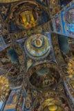 Rusia, St Petersburg, interior 23,09,2017 de la iglesia del Imagen de archivo