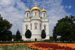 Rusia, St Petersburg, la ciudad de Pushkin Julio, 13,2018 En la catedral de la foto de St Catherine, imagen de archivo libre de regalías