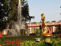 Rusia, St Petersburg, Peterhof, el 22 de septiembre de 2017, en el palacio de Monplaisir de la foto en septiembre Imagenes de archivo