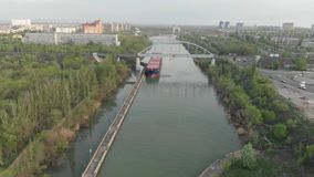 Rusia stalingrad Canal del env?o de Volga-Don