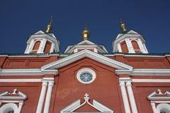 Rusia. Un fragmento la catedral de la cruz santa Fotografía de archivo libre de regalías