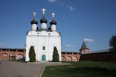 Rusia, Zaraysk. Iglesia de San Nicolás. Fotos de archivo libres de regalías