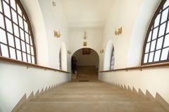 rusian Ορθόδοξη Εκκλησία απότομα βήματα, Μπάρι, Ιταλία πίστη στοκ εικόνες