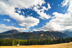 Rusinowa Polana, Tatry, Poland Stock Photography