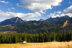 Rusinowa Polana, Tatry, Poland Royalty Free Stock Photo