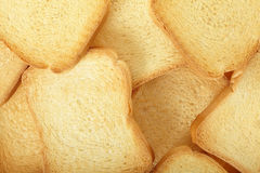 Rusk bread background Royalty Free Stock Photography