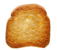 Rusk bread loaf toast biscuit, diet food Royalty Free Stock Photo
