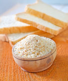 Rusk flour Royalty Free Stock Photos
