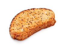 Rusk With Poppy Stock Photography