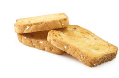 Rusk toasted Stock Images