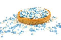 Free Rusk With Blue Mice Royalty Free Stock Photography - 11733017