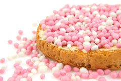 Free Rusk With Pink Mice Royalty Free Stock Images - 11733029