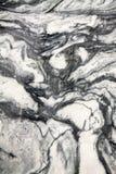 从Ruskeala的大理石 免版税库存照片