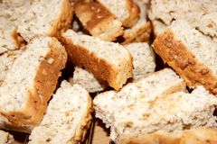 Rusks background Stock Images