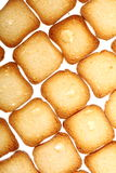 Rusks bread toast biscuits, diet food background Royalty Free Stock Photo