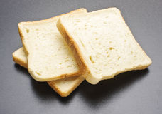 Rusks on the grey background Stock Photography